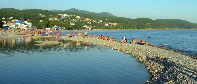 лазаревское пляж чайка фото