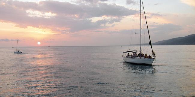 На яхте в Лазаревском
